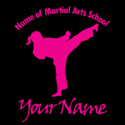 Martial Arts - High Kick (Girl)